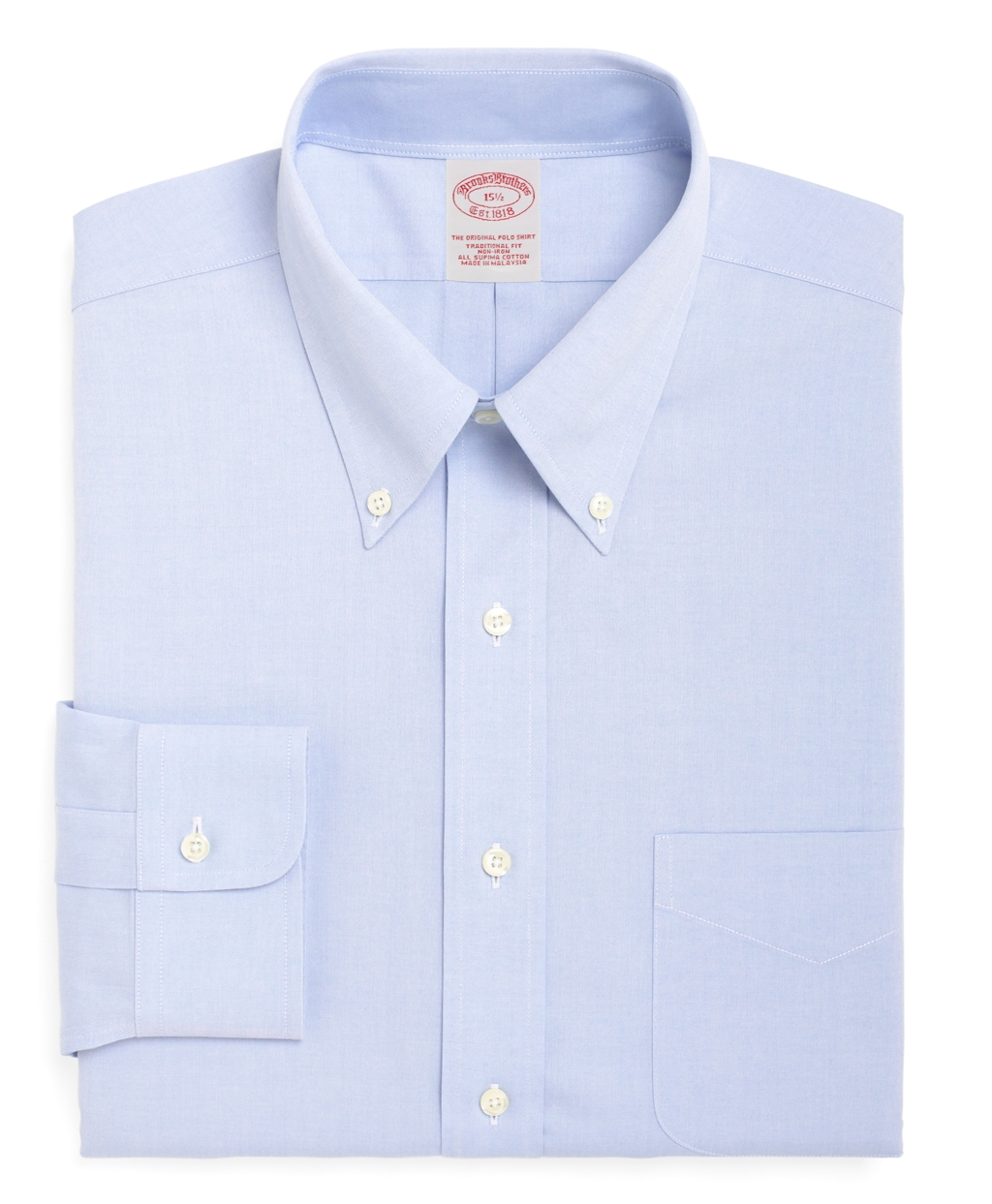 Brooks Brothers Non Iron Traditional Fit Button Down