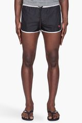 Diesel Black and Grey Bmbx Reef Swim Shorts - Lyst
