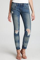 Free People Jeans Destroyed Skinny in Engineer