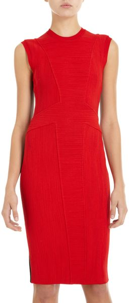 Givenchy Corded Knit Sheath Dress - Lyst