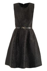 Jason Wu Flounce Dot Brocade Dress - Lyst