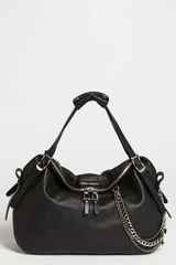 Jimmy Choo Blake Biker Leather Shopper - Lyst