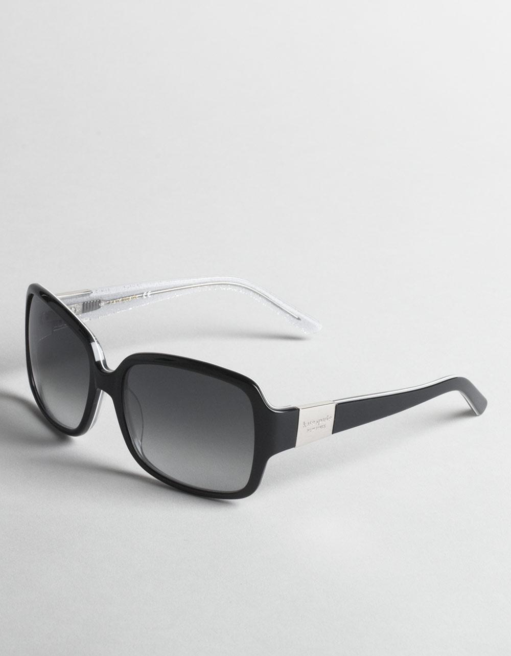 5b5a95b1ea7 Lyst - Kate Spade New York Lulu Oversized Rectangular Sunglasses in ...