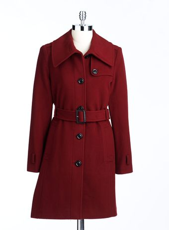 London Fog Envelope Collar Coat - Lyst