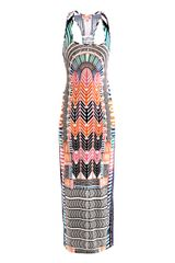 Mara Hoffman Electric Casinoprint Maxi Dress - Lyst