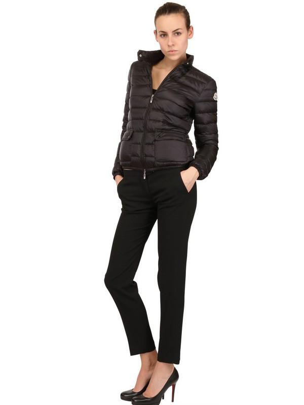 moncler lans basic short down jacket
