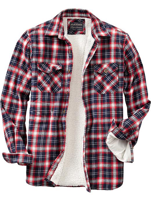 Sherpa lined flannel shirt jacket quotes for Men s lightweight flannel shirts