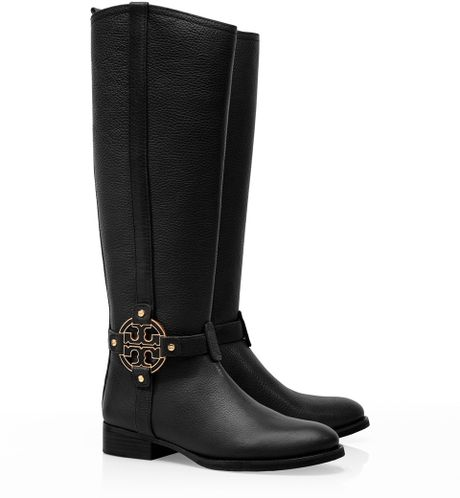 Tory Burch Womens Shoes Selma Riding Boots