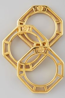 Tory Burch Audrina Stacking Rings - Lyst