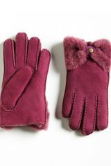 Ugg Shearling Gloves - Lyst