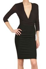 Versace Viscose Jersey Dress - Lyst