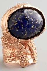 Yves Saint Laurent Rose Golden Arty Ring - Lyst
