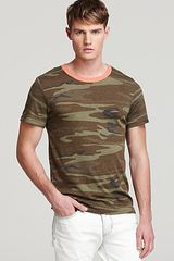 Alternative Camo Crewneck Tee - Lyst