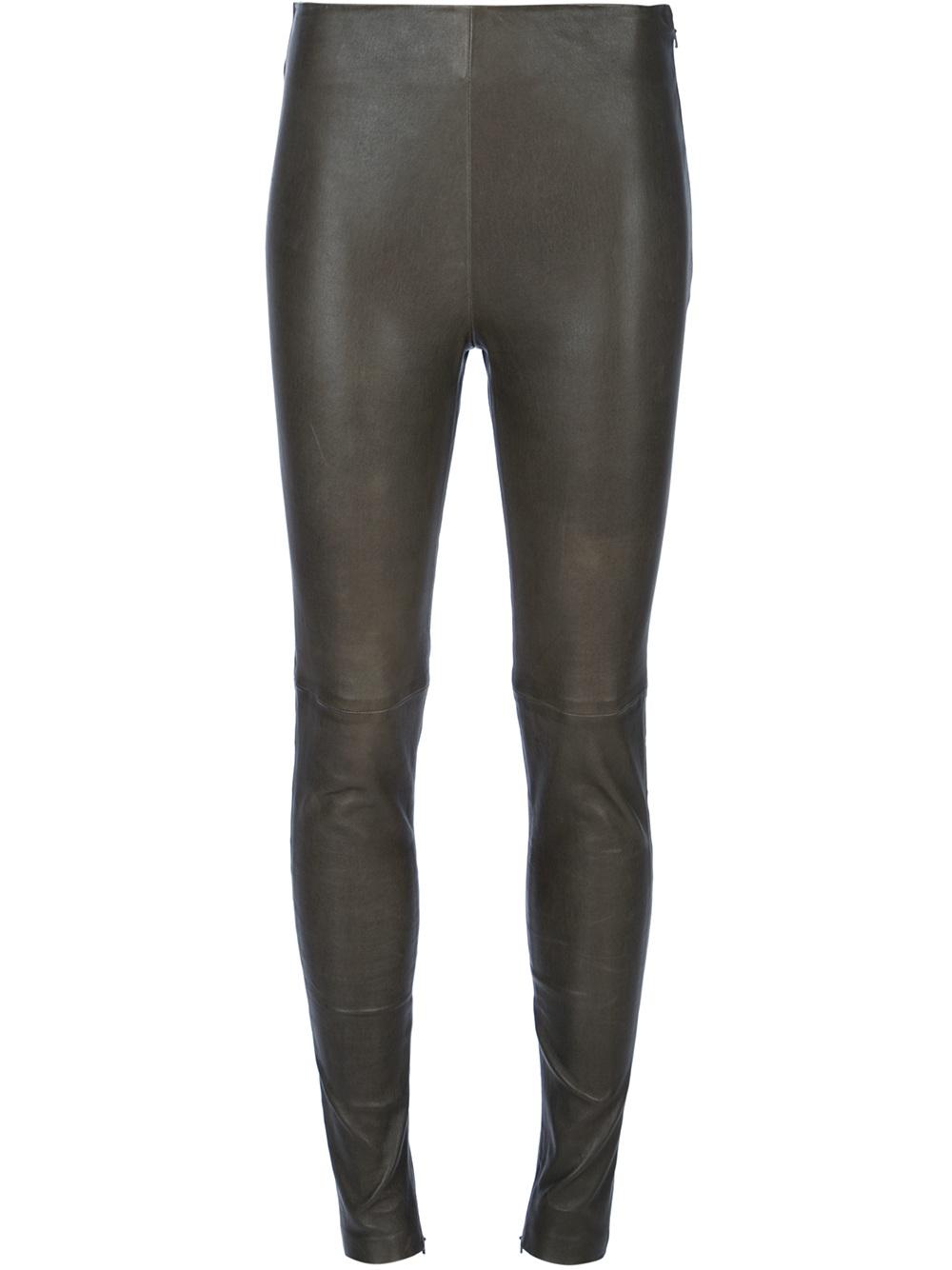 4953e5e97a6581 Gallery. Previously sold at: Farfetch · Women's Leather Leggings