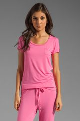 Juicy Couture Modal Tee - Lyst