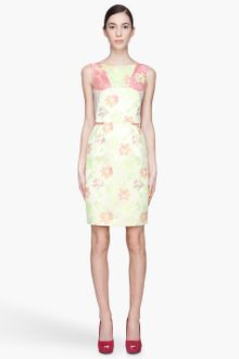 Matthew Williamson Fluorescent Floral Day Dress - Lyst