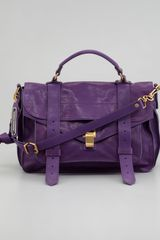 Proenza Schouler Ps1 Medium Satchel Bag - Lyst