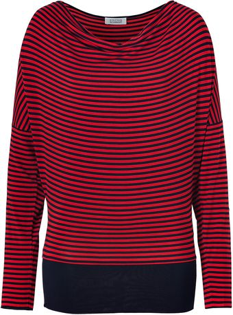 Steffen Schraut Navyred Striped California Top - Lyst