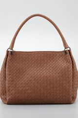 Bottega Veneta Large Eastwest Hobo Bag Hazelnut Brown - Lyst