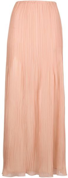 Chloé Pleated Maxi Skirt - Lyst