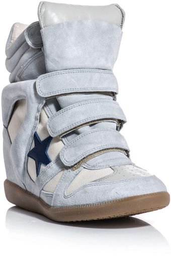Isabel Marant Bayley Wedge Sneakers - Lyst