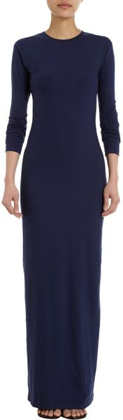 Jil Sander Maxi Tee Dress - Lyst