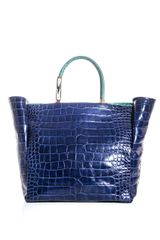 Lanvin Crocodile Embossed Bag - Lyst