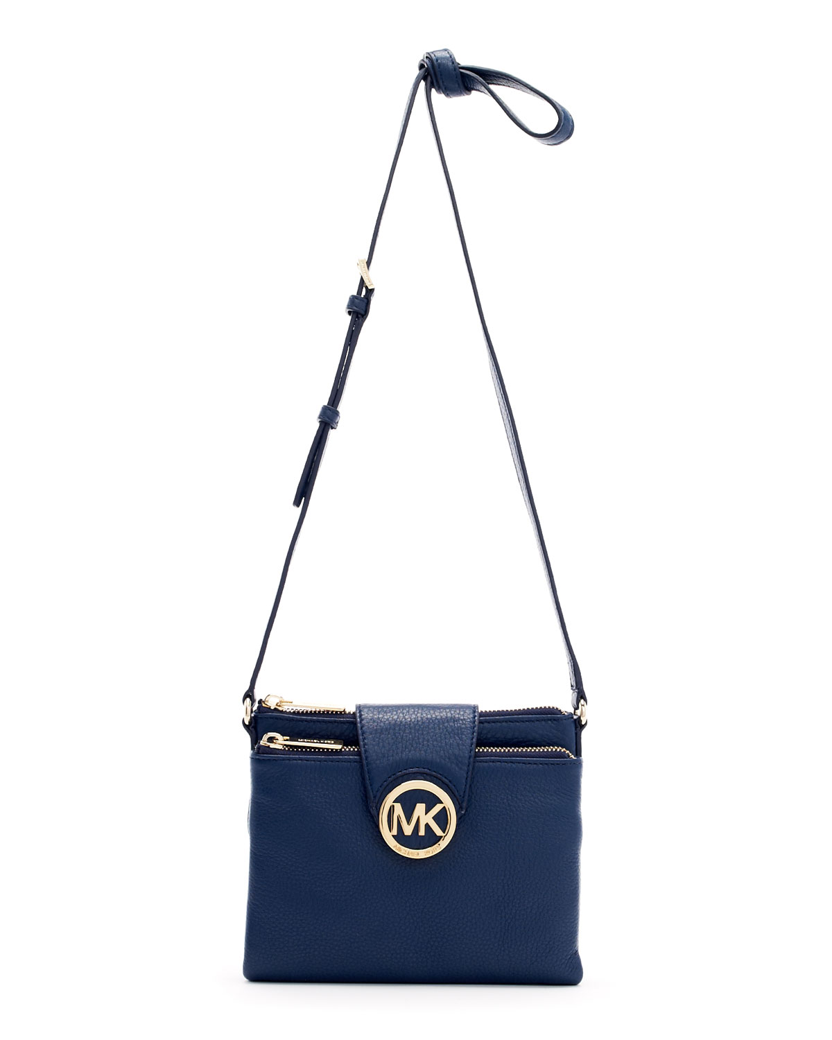9ff7944f2543 Lyst - MICHAEL Michael Kors Large Fulton Crossbody Bag in Blue