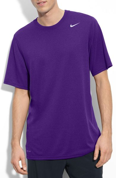 Nike Legends Drifit Tshirt in Purple for Men (court purple/ carbon