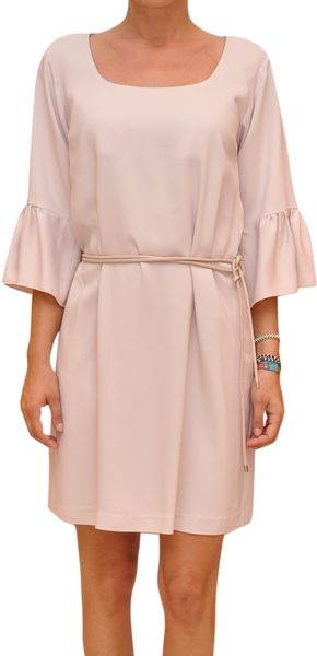 P.a.r.o.s.h. Arisa Dress with Belt - Lyst
