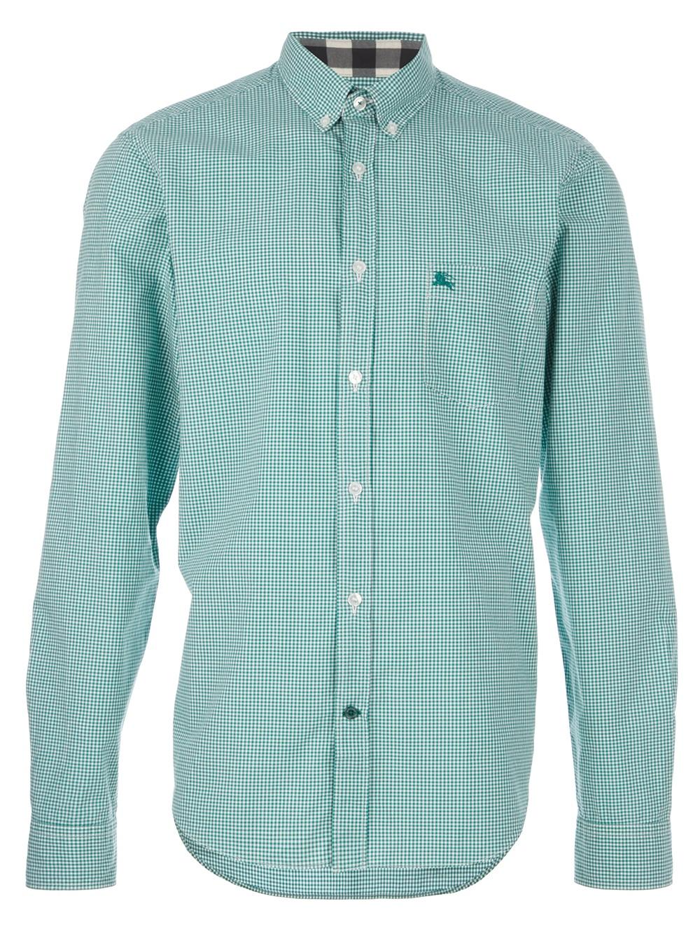1fbd03e3 Mens Burberry White Button Down Shirt   The Art of Mike Mignola