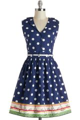 ModCloth Style in Your Sails Dress - Lyst