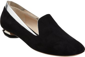 Nicholas Kirkwood Trimmed Smoking Slipper - Lyst