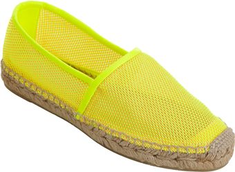Stella McCartney Mesh Espadrille Slipon - Lyst