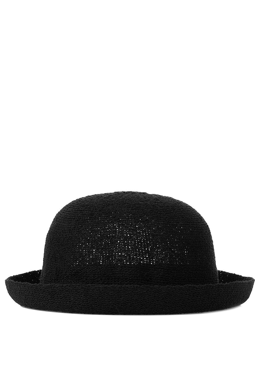 ccb3c2b2b4185 Lyst - TOPSHOP Transitional Bowler Hat in Black
