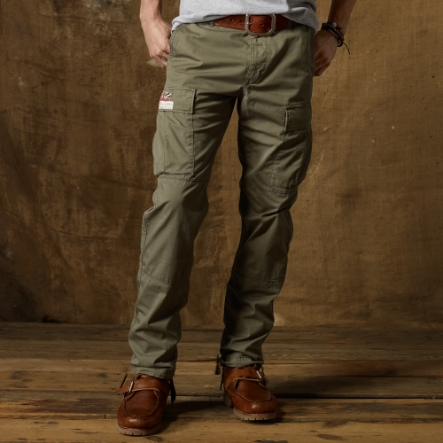 Denim & supply ralph lauren Slimfit Military Cargo Pant in Green ...