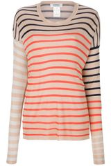 Sonia By Sonia Rykiel Loose Fit Striped Jumper - Lyst