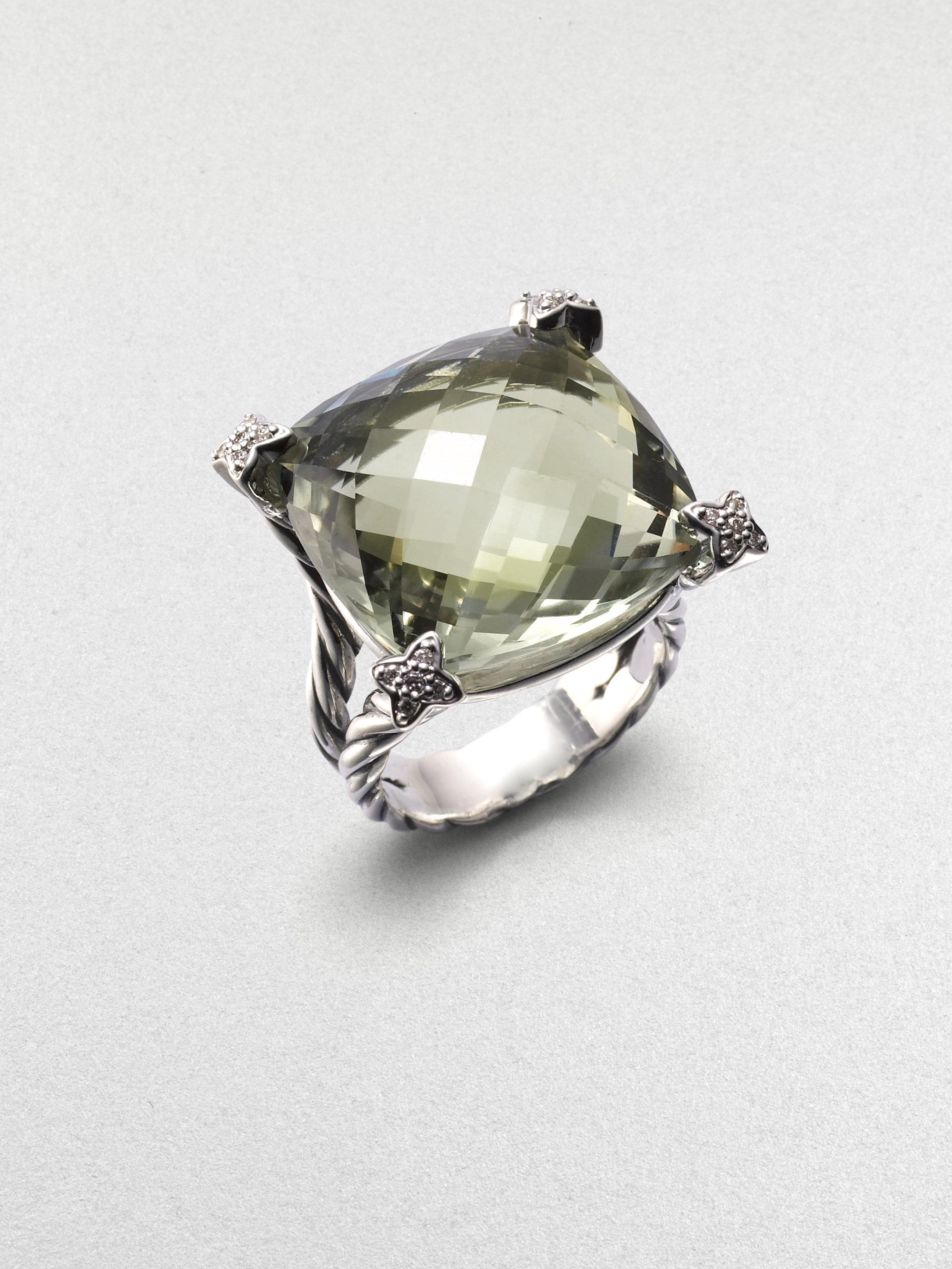 david yurman prasiolite sterling silver ring in