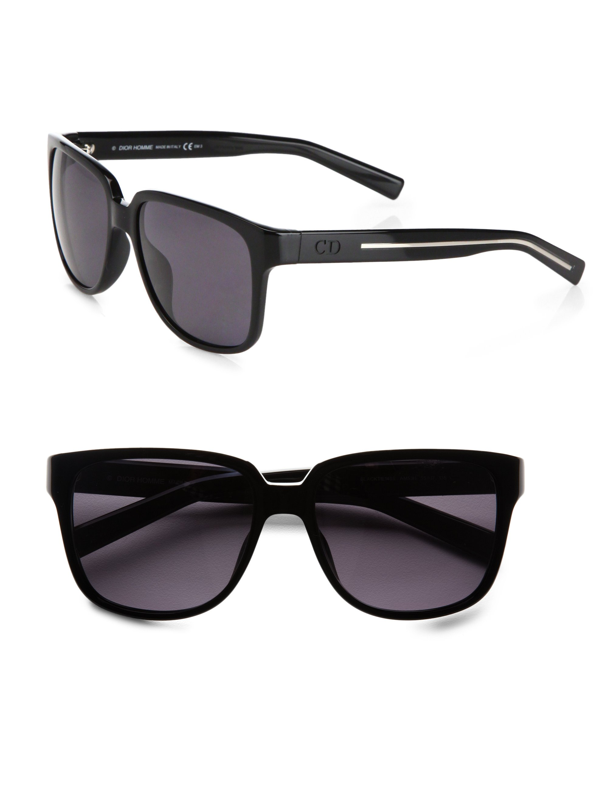 Dior Homme Black Tie Sunglasses In Black For Men Lyst