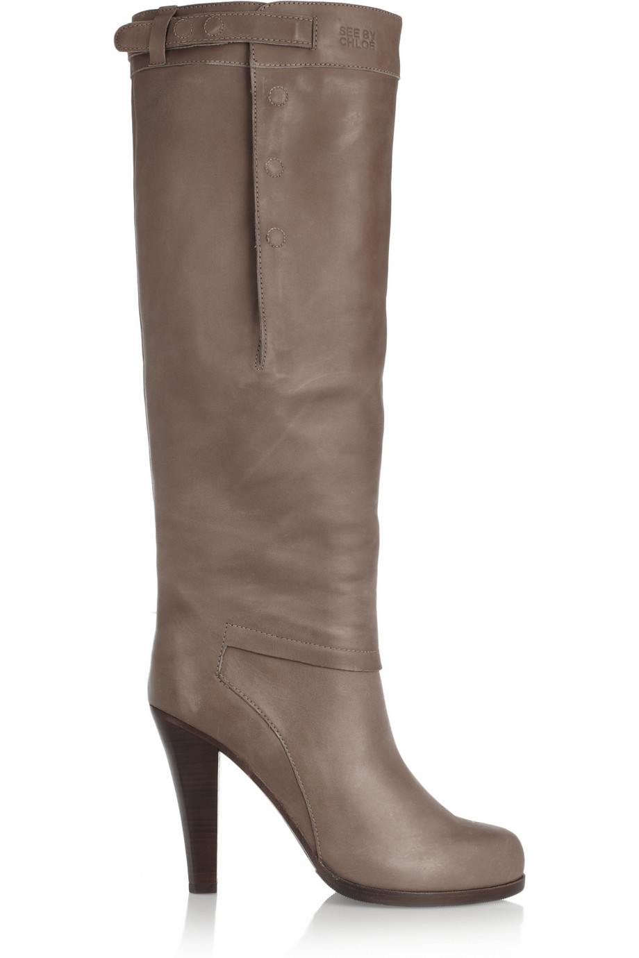 Chloé Distressed Knee-High Boots newest cheap price outlet wide range of free shipping finishline cheap sale recommend geEv0li