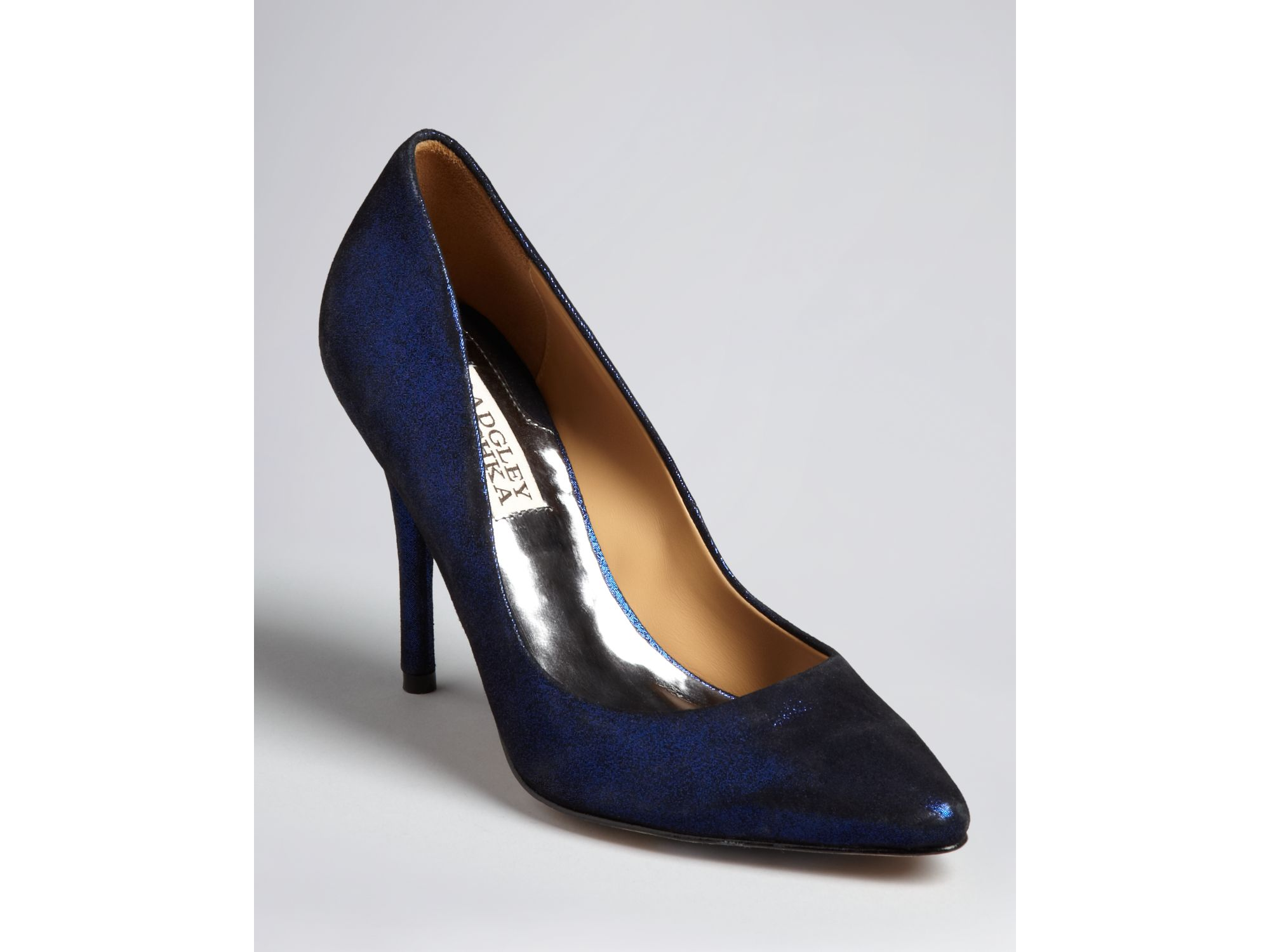 Electric Blue Pumps High Heels