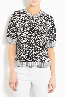 By Malene Birger Bine Sequin Lurex Top - Lyst