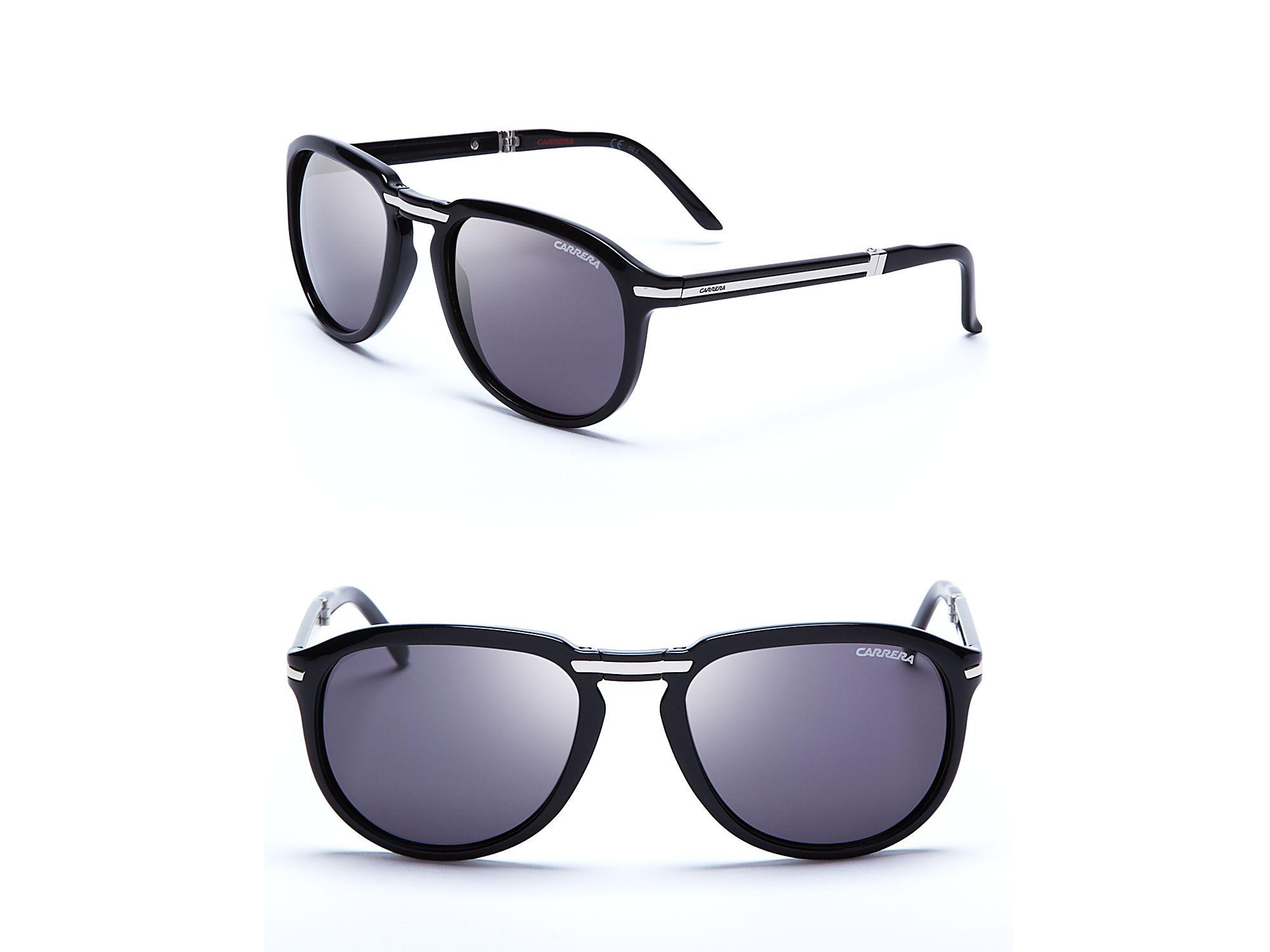1d62325d8e Carrera Foldable Wayfarer Sunglasses in Blue for Men - Lyst