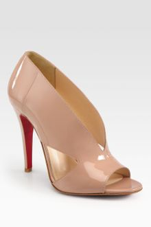 Christian Louboutin Creve Couer Patent Leather Sandals - Lyst
