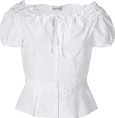 White Blouse Embroidered 66