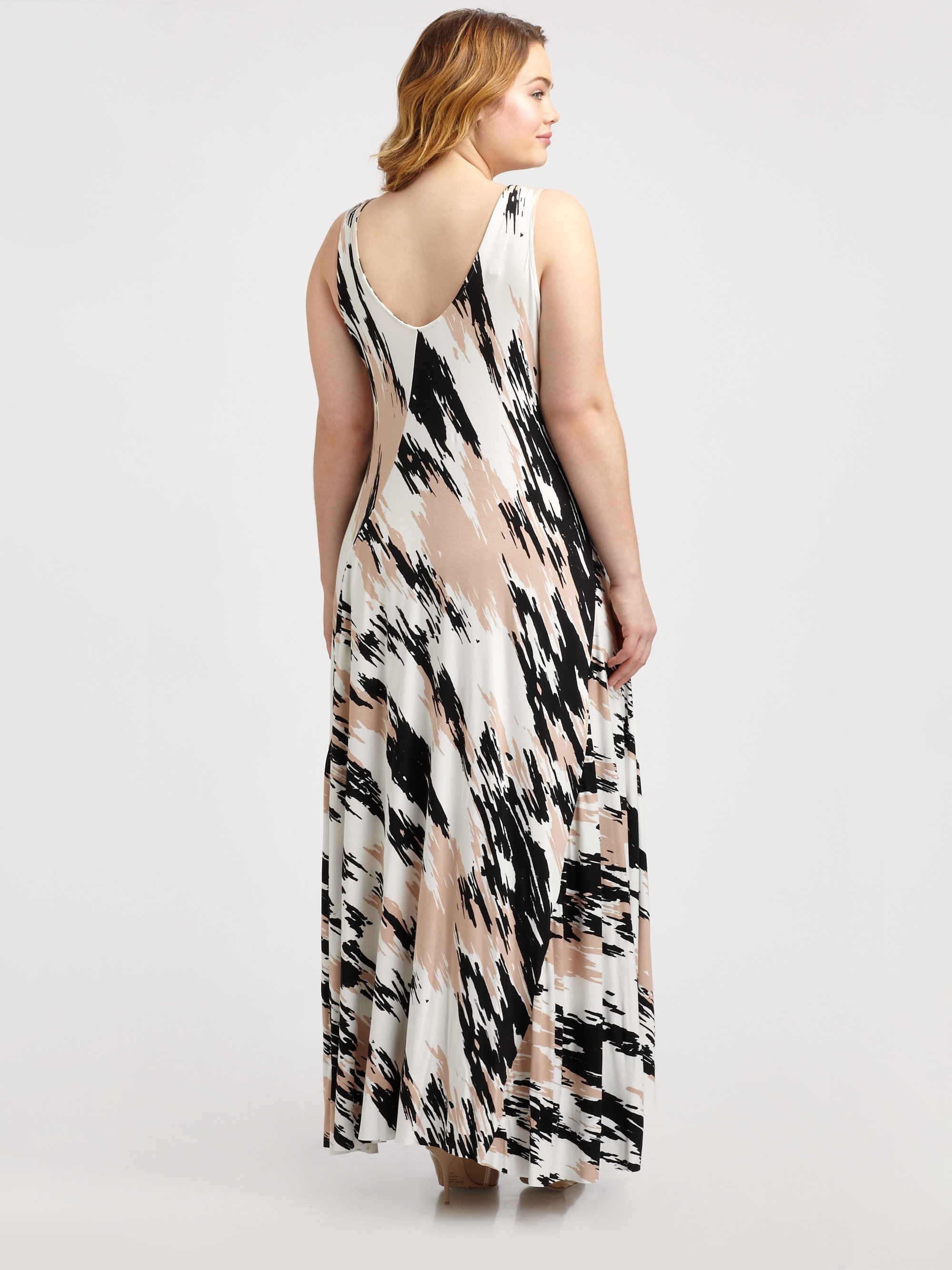 Rachel pally nora dress in natural lyst gallery ombrellifo Images