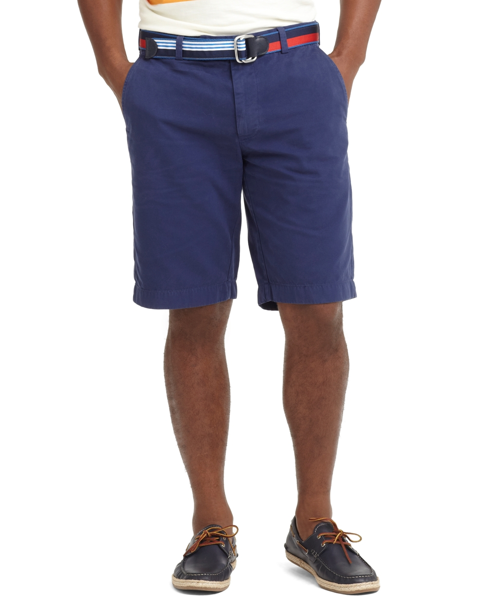 Blue Dress Shorts