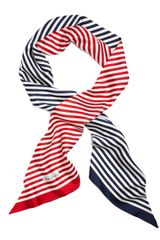 Brooks Brothers Silk Striped Oblong Scarf - Lyst