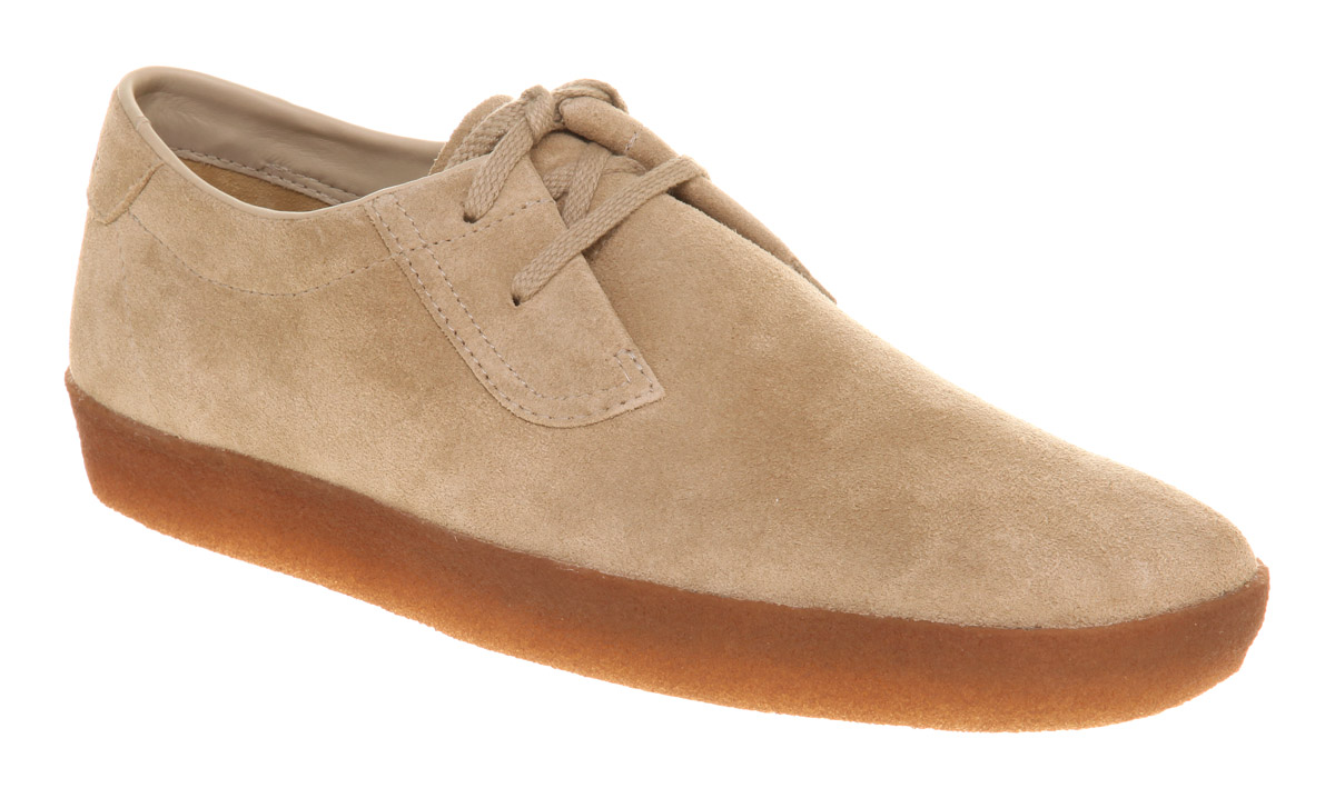 Lyst Clarks Ashcott Shoe Sand Suede In Natural For Men