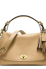 Coach Legacy Leather Romy Top Handle - Lyst